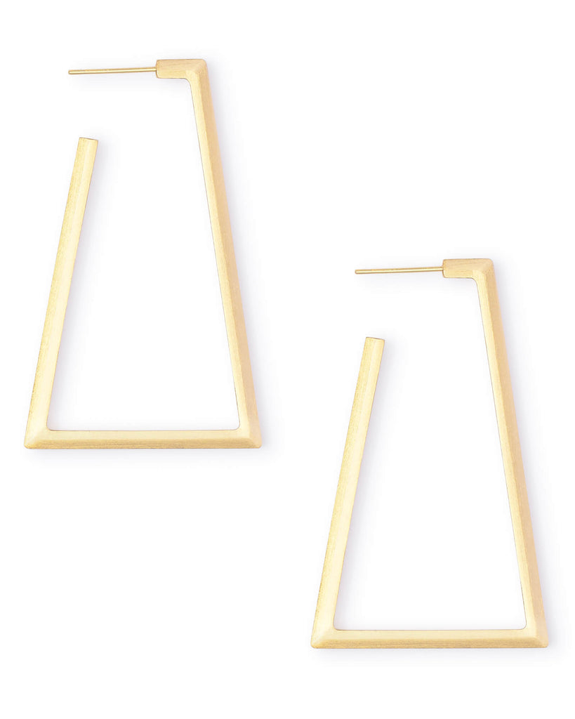 Easton Hoop Earrings in Metal