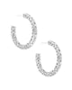 Maggie Small Filigree Hoop Earrings