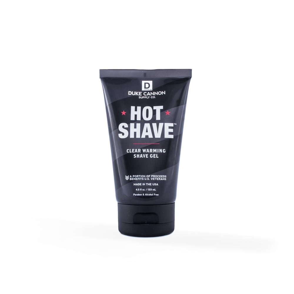 Hot Shave Clear Warming Shave Gel