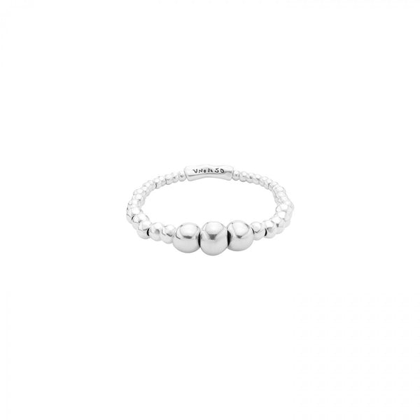Hungry Hungry Hippos Silver Stretch Bracelet