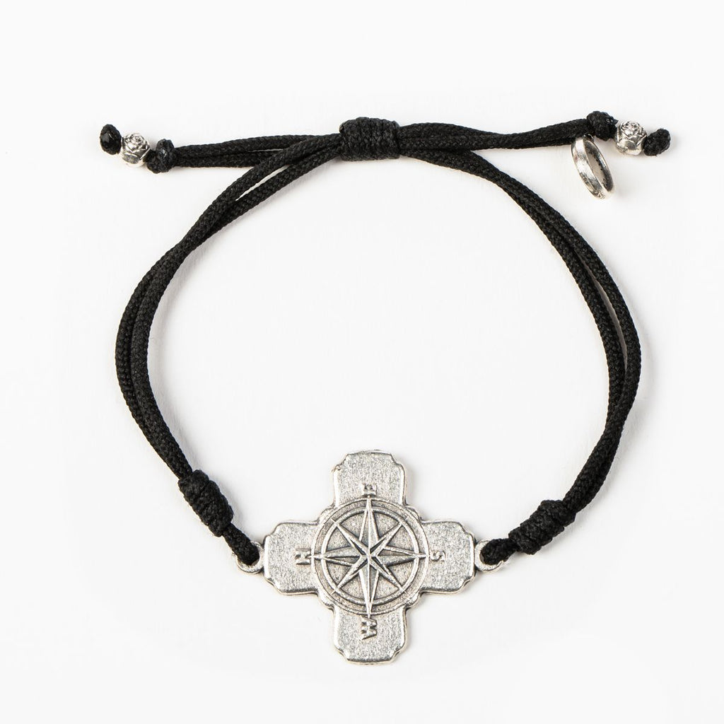 True North Compass Cross Necklace