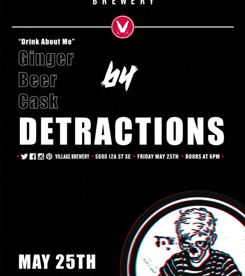 Village Cask Sessions: Ginger Beer by Detractions