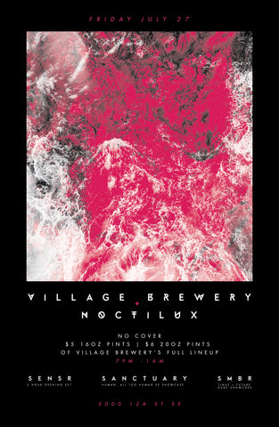 Village Cask Sessions: Noctilux collective