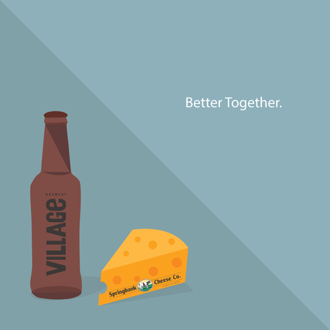 Village Beer and Food Pairings: Springbank Cheese Co.