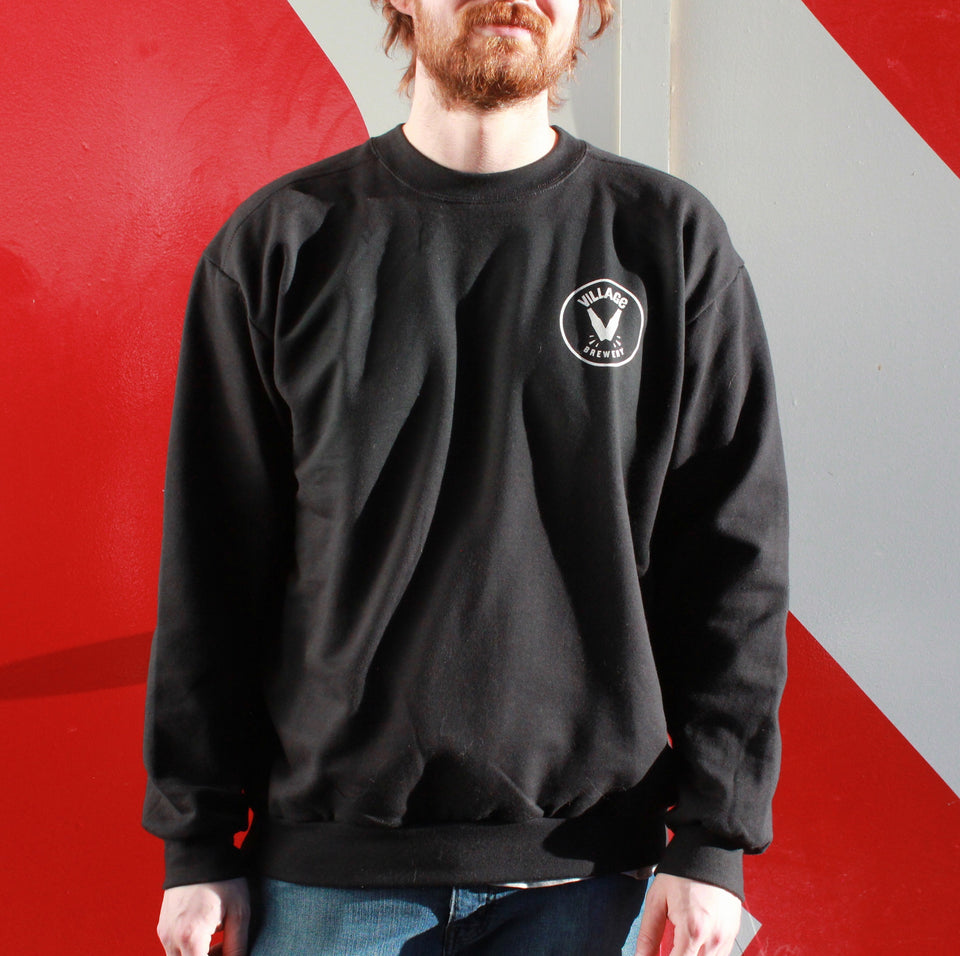 Village Black Crewneck