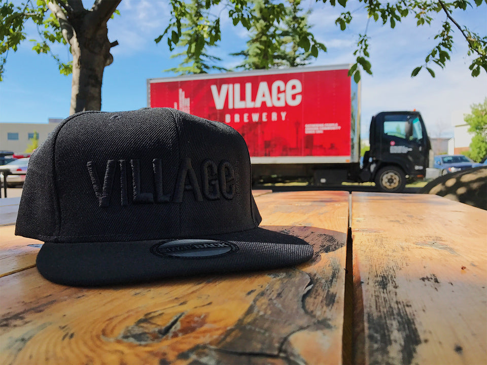 VB Black on Black Snap Back Hat
