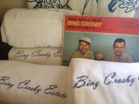 This may seem weird, cause I know I'm a monk... but I totally hung out at Bing Crosby's pool today.