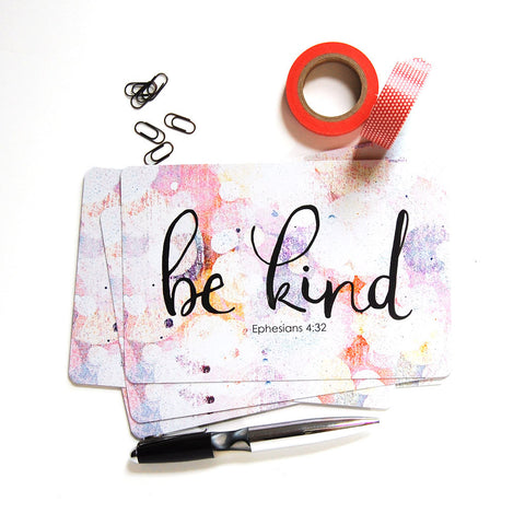 be kind postcards