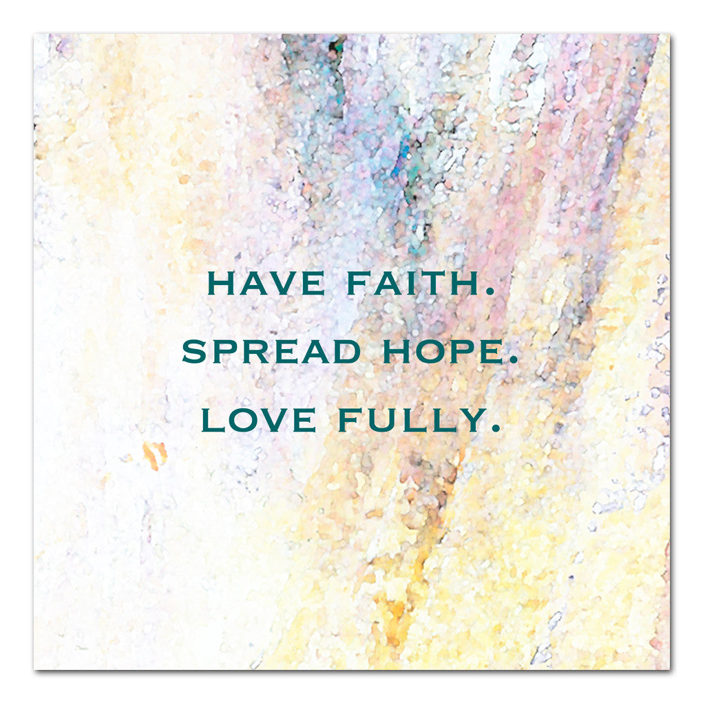 faith hope love inspirational art