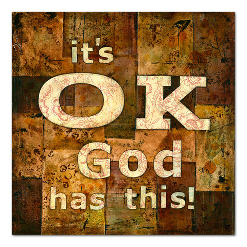 it's ok God has this