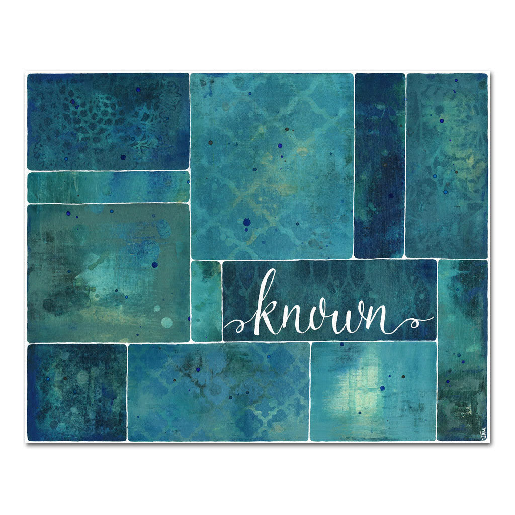 known by God 11x14 inspirational art