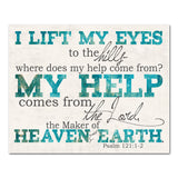 where does my help come from psalms scripture art