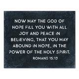 The God Of Hope Canvas (black)