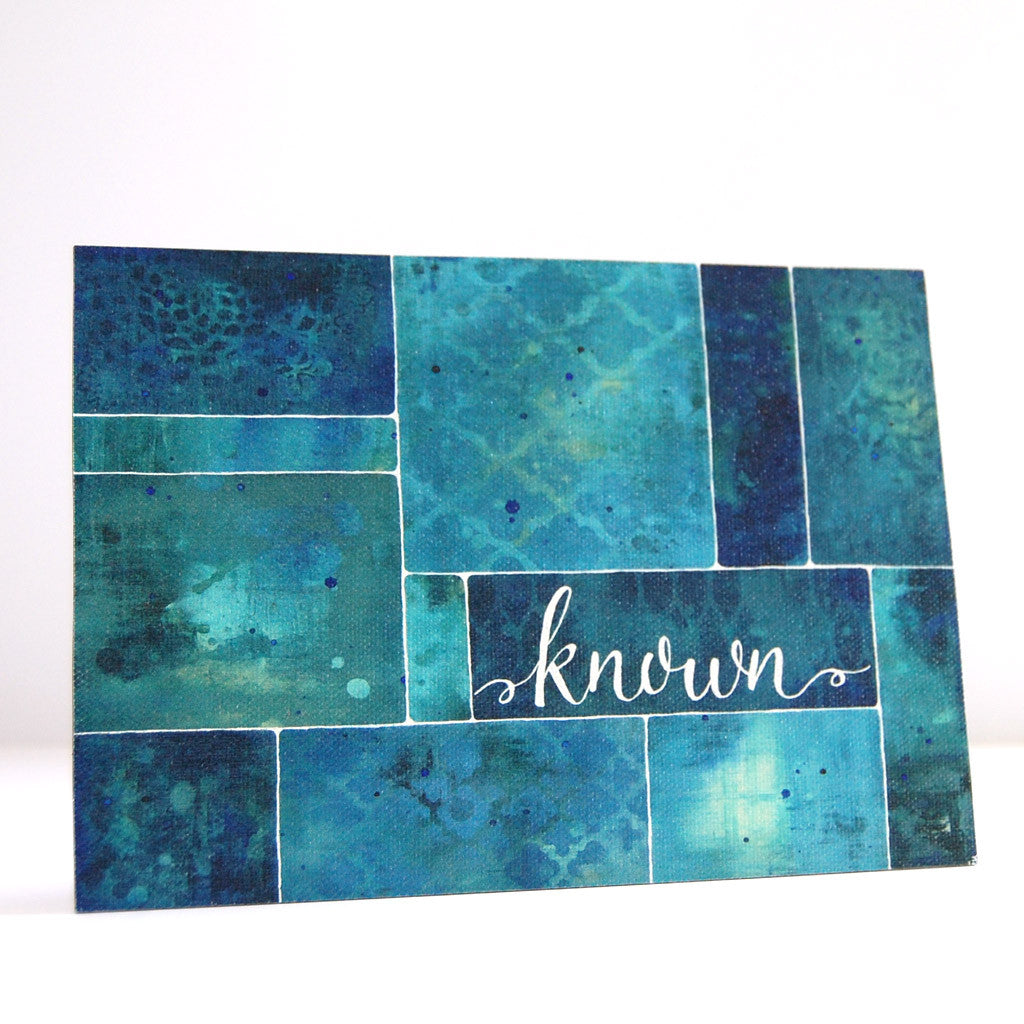 known by God inspirational canvas art