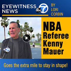NBA Referee - Kenny Mauer l- ABC7 - By Lori Corbin