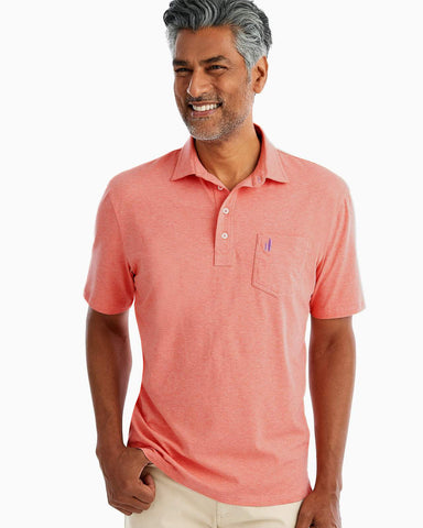 Creamsicle Original Heathered Polo