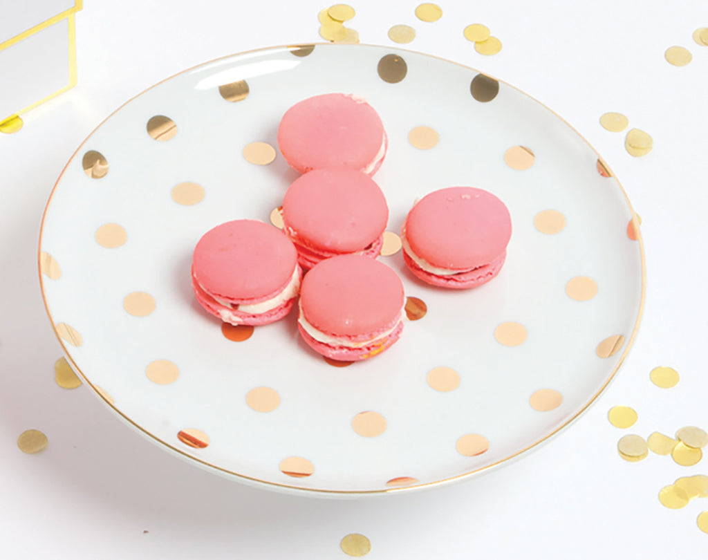 Gold Dot Cake Stand