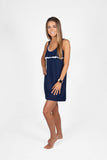 Navy Logan Nightie
