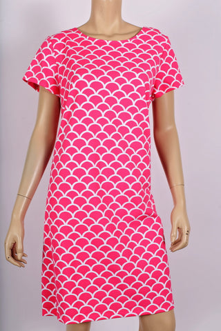 Pink Scales Key West Dress