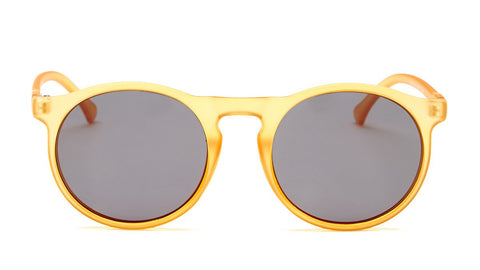 Yellow Round Frame Sunglasses - Venice