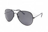 Aviator Black Frame Sunglasses - Miramar