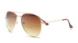 Aviator Gold Frame Sunglasses - Miramar