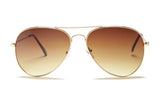 Gold Frame Aviator Sunglasses - Miramar