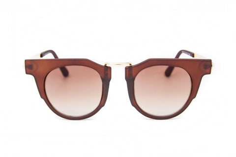Matte Brown Frame Sunglasses - Siena