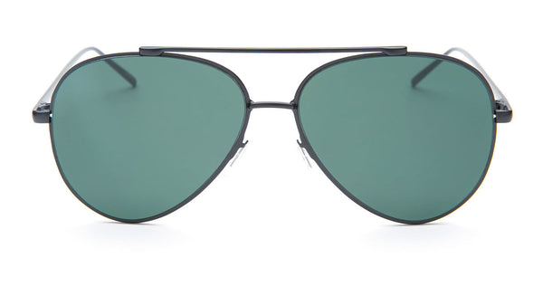 Black Frame Aviator Sunglasses - Coronado