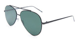 Aviator Black Frame Sunglasses - Coronado