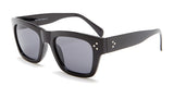 Wayfarer Thick Black Frame Sunglasses - Ojai