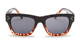 Black and Red Wayfarer Tortoise Shell Sunglasses - Ojai
