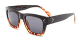 Tortoise Shell Black and Red Wayfarer Sunglasses - Ojai