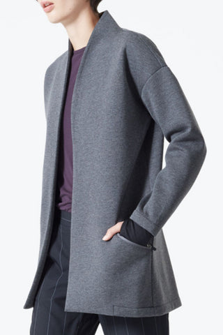 Granville Fleece Cocoon Coat