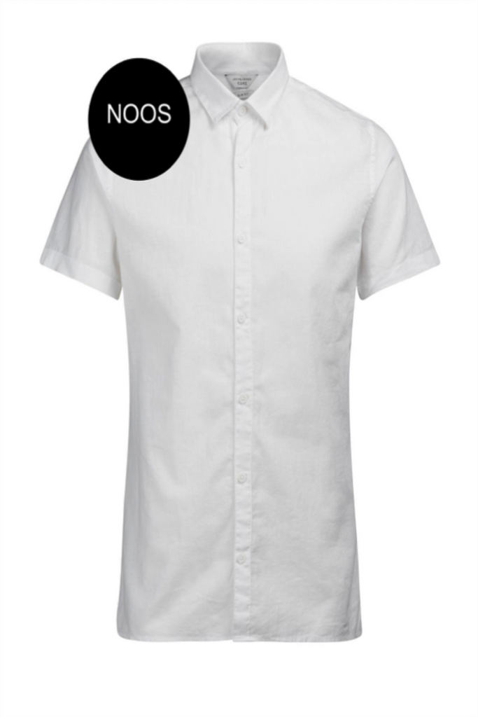 Lake Lined Shirt White
