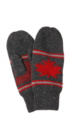 Lambswool Mittens - Canadian Edition