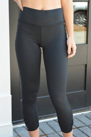 Crop Length Activewear Bottom