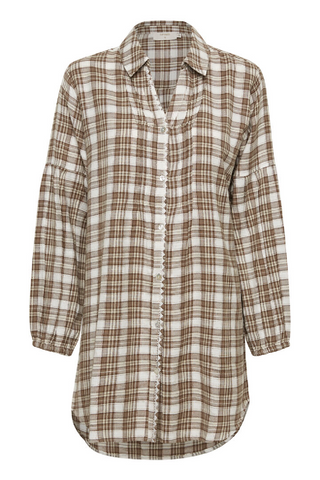Chekia Plaid Blouse