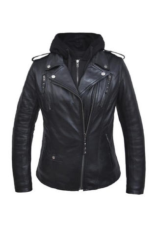 Unik Lambskin Leather Jacket