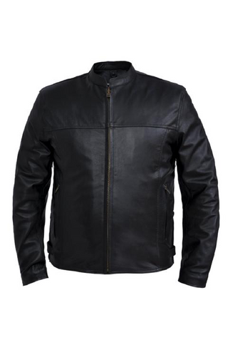 Unik Goat Skin Leather Jacket
