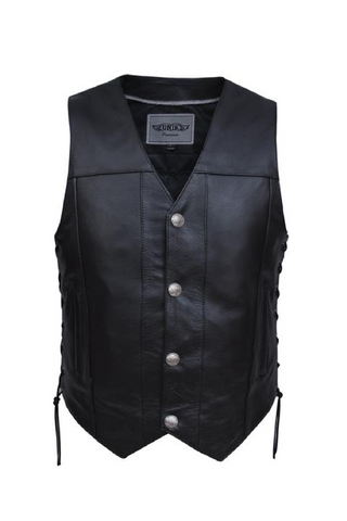 Unik Premium 1.2mm Leather Vest.