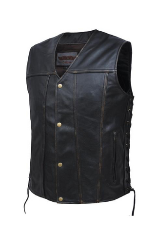 Unik Leather Colorado Vest