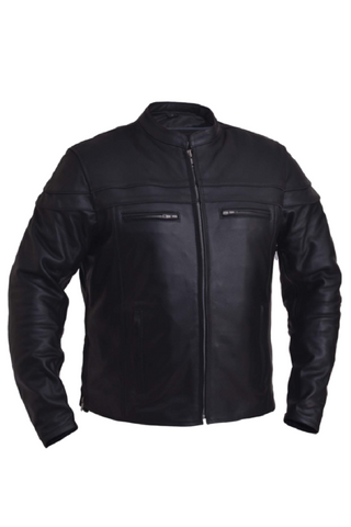 Unik Cowhide Premium Leather Jacket