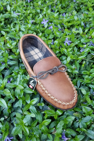Wakonsun Rubber Sole Moccasin
