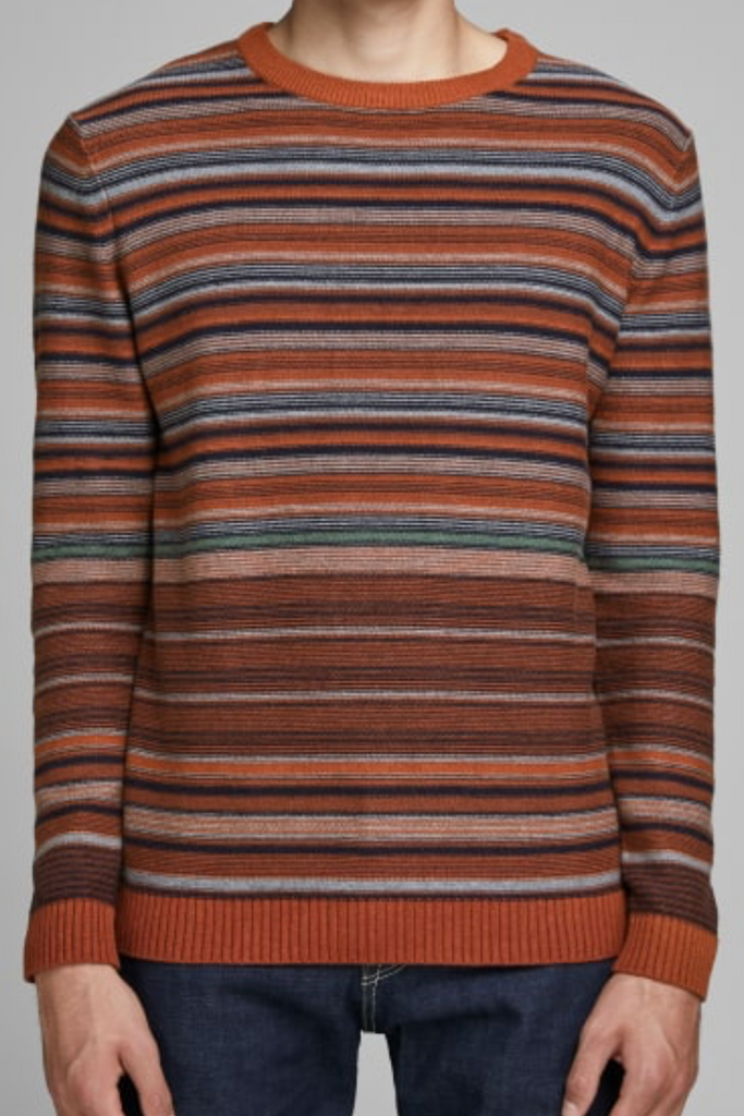 Jaxon Knit Crew Knitted Pullover