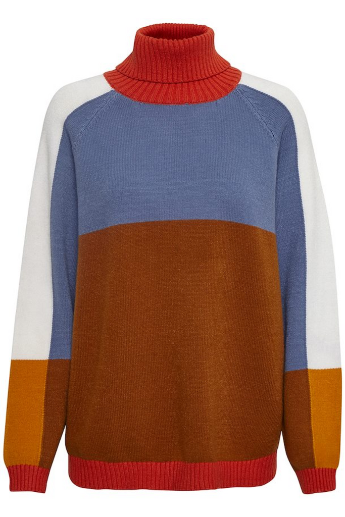 Sky Rollneck Sweater