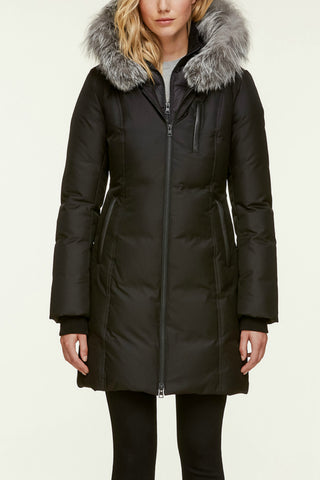 Christy-FX Hooded Down Coat