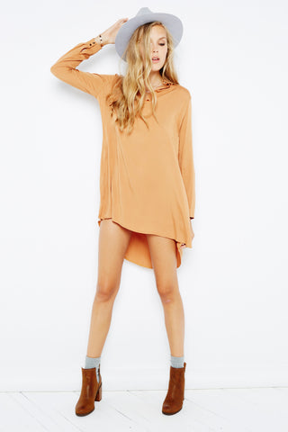 Desire Volume Shirt Dress