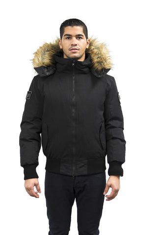 Enzo Bomber Down Jacket