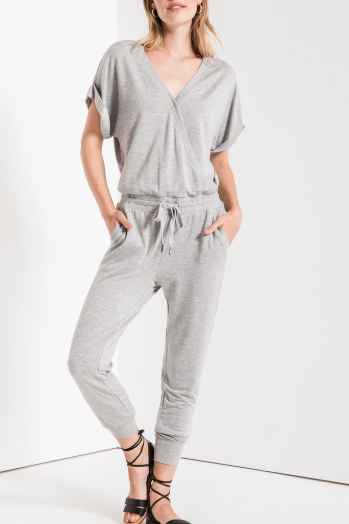 The Wrap Front Jumpsuit